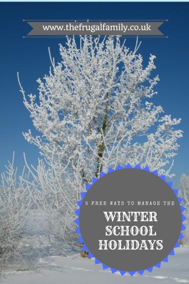 Winter School Holiday Survival