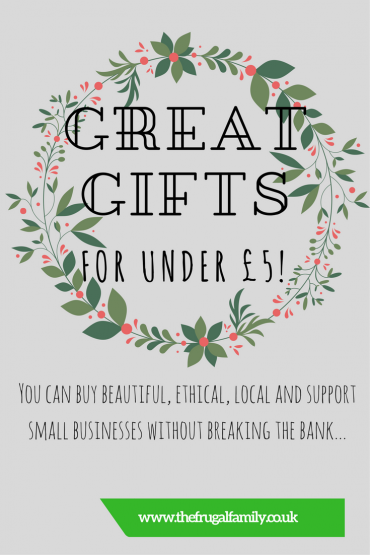Gorgeous Gifts for £5 and Under