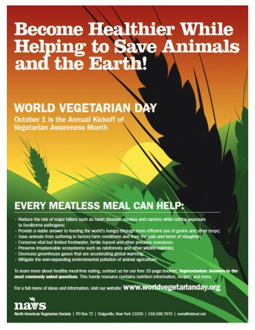 World Vegetarian Day!
