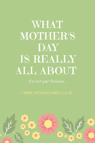 Mother's Day Musing